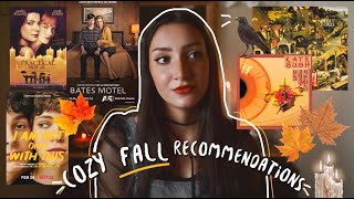 Cozy Things to Do and Watch This Fall 🍂 Autumn Recommendations | music, movies, tv shows, & more