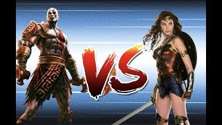 Kratos vs Wonder Woman: Who Would Win?