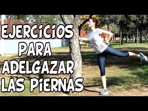 Ejercicios para adelgazar las piernas y caderas en el gym