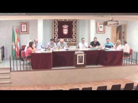 El Hoyo de Pinares. Pleno Ordinario Ayto. 11 Septiembre 2015