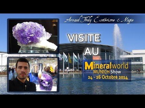 VISITE AU MUNICH MINERAL SHOW 2014 - ATÉ&M - ARNAUD THULY