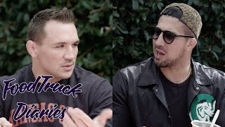 Michael Chandler | Food Truck Diaries | BELOW THE BELT with Brendan Schaub