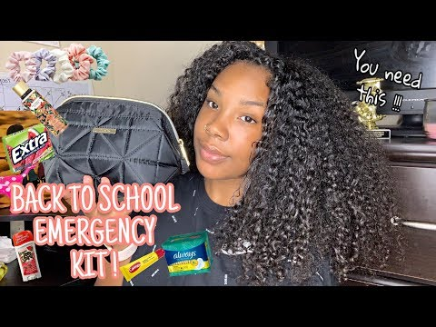 BACK TO SCHOOL EMERGENCY KIT  THAT EVERY GIRL NEEDS 🤫📚