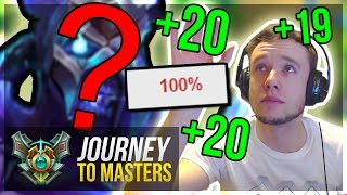 MY NEW FREELO CHAMP?! | Climbing FAST! | Journey To Masters #29 S7 - League of Legends
