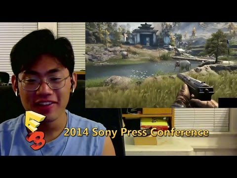 E3 2014 Sony Press Conference Reactions Part Two