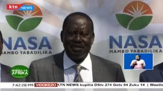 Raila Odinga aliteuliwa kuwa mjumbe maalum wa umoja wa Afrika kushughulikia suala la miundo msingi