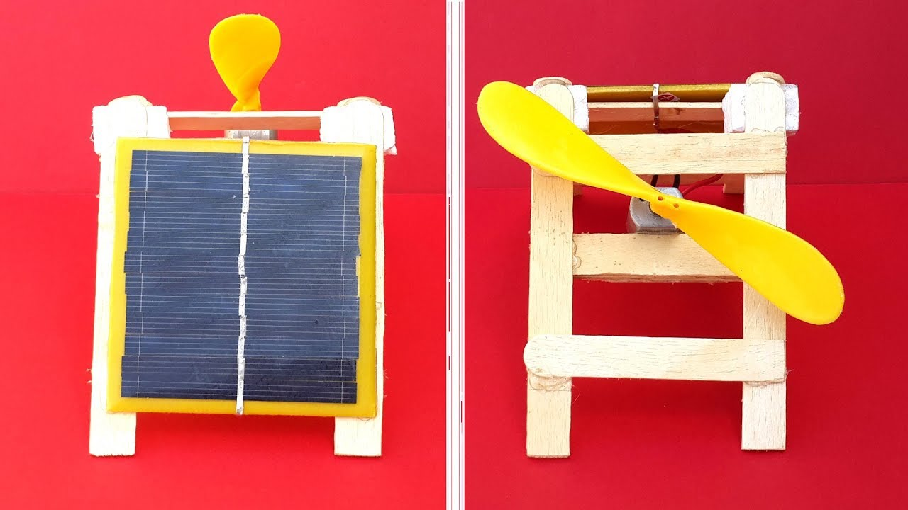 how to make solar at home