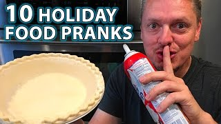 Gambar cover 10 TOP Holiday Dinner Pranks on Family!