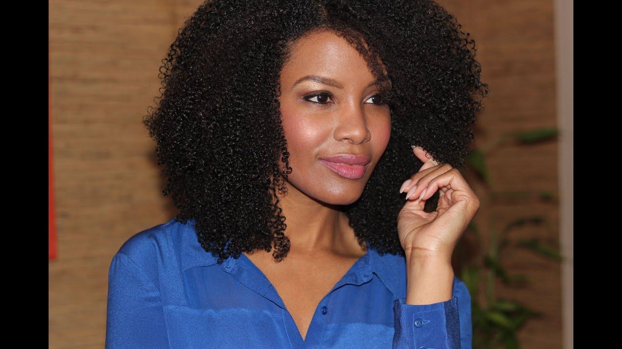 natural hair routine super defined