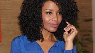 Natural Hair Routine | Super Defined Curls (3c/4a Low Porosity)