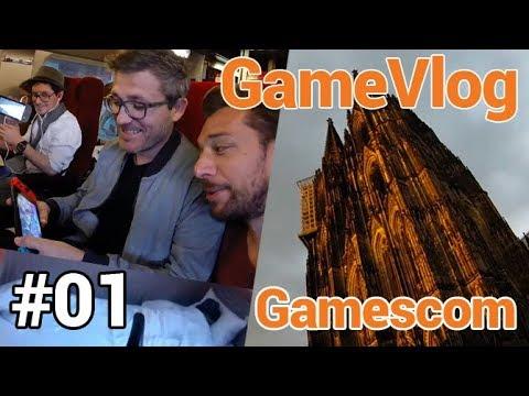 GameVlog spécial Gamescom #1 : Arrivée à Cologne