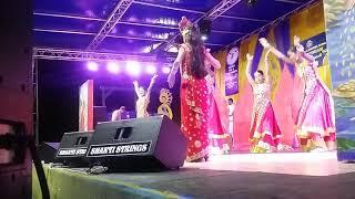 Dharmic Sabha dancers at Diwali motorcade