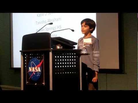 Youngest NASA Speaker - Tanishq Abraham, 9 Yr Old Science Prodigy
