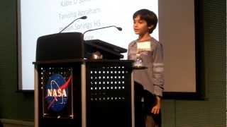 Youngest NASA Speaker - Tanishq Abraham, 9 yr old science prodigy 2017 Video