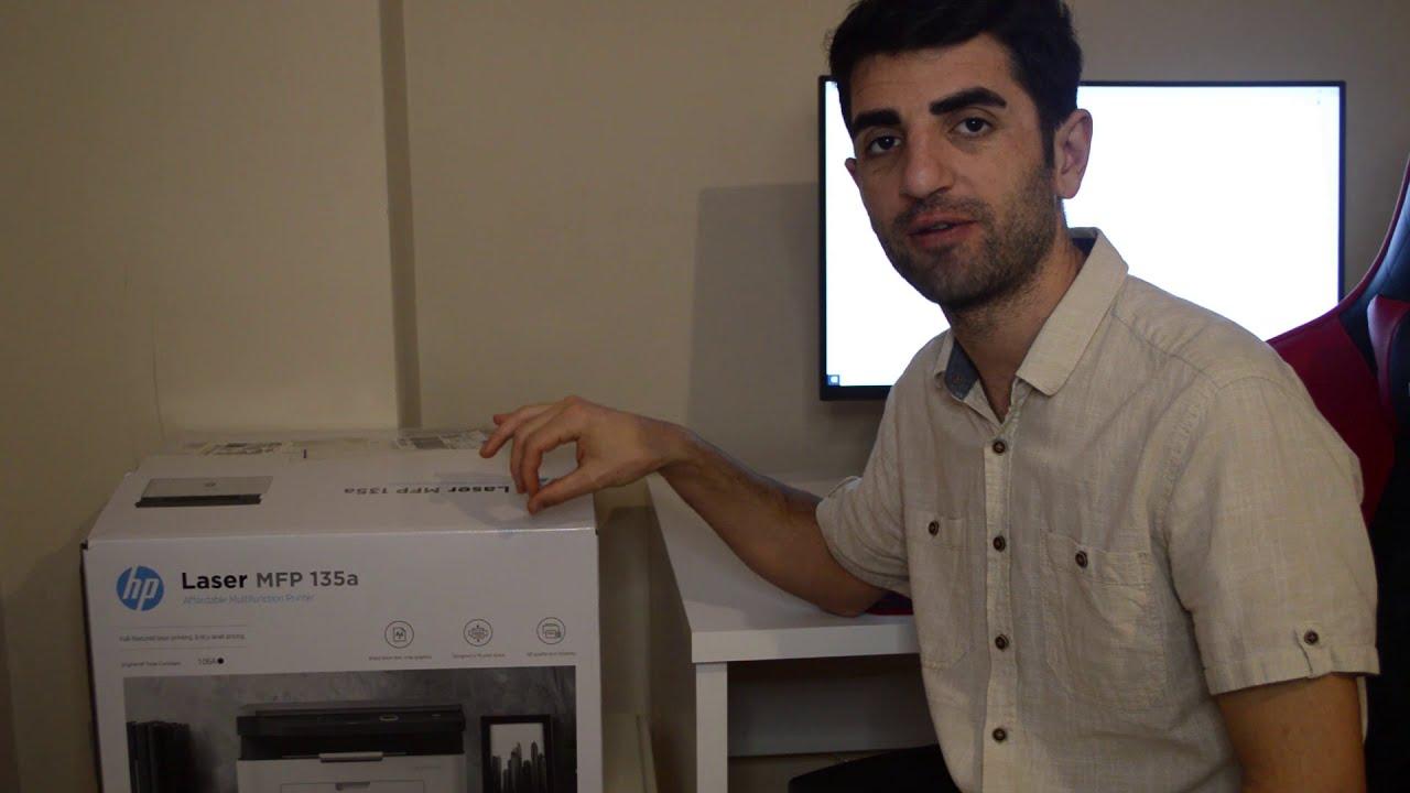 HP LASER MFP135a KURULUM ve Tüm detaylar