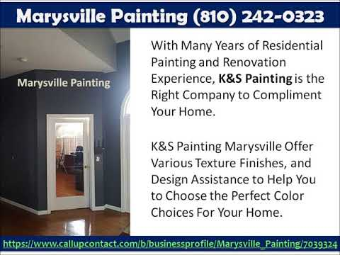 Marysville Painting (810) 242-0323