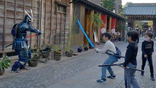 サムライマネキンドッキリ#3/SAMURAI Mannequin Prank in Japan#3~Age of Samurai~