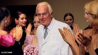 Hubert de Givenchy : les adieux du couturier gentleman