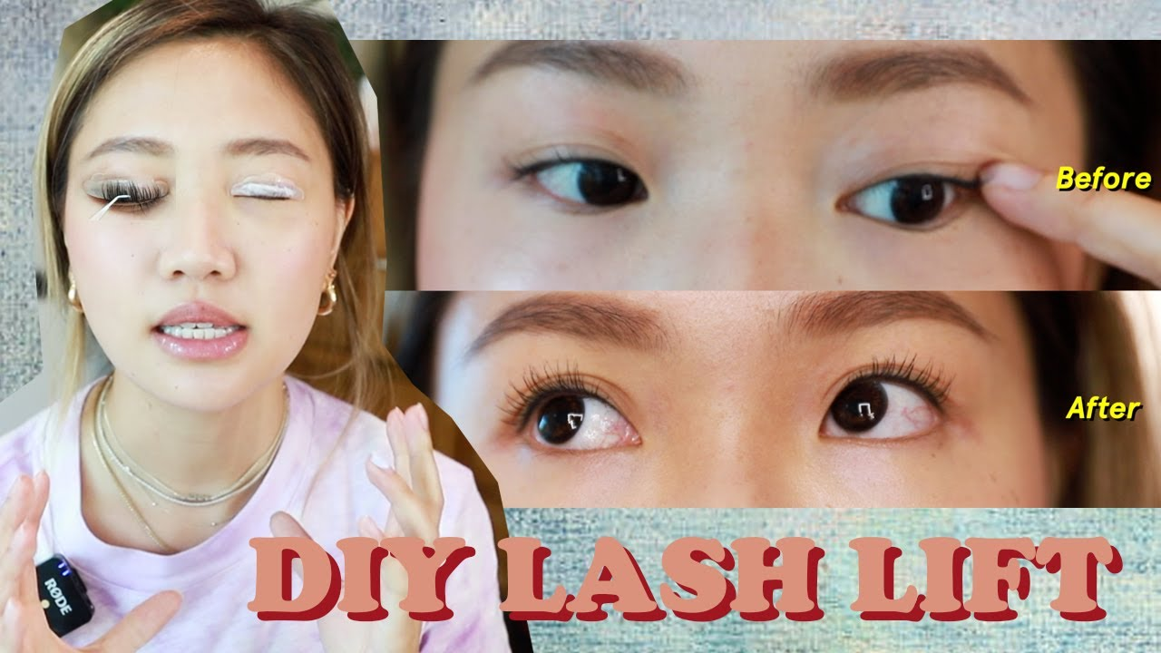 🎃DIY 角蛋白電眼睫毛 DIY LASH LIFT  | Pumpkin Jenn🎃