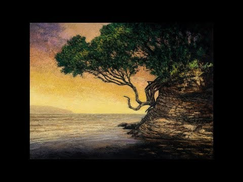 Sunrise Cove Tonalist Landscape Oil Painting Demonstration