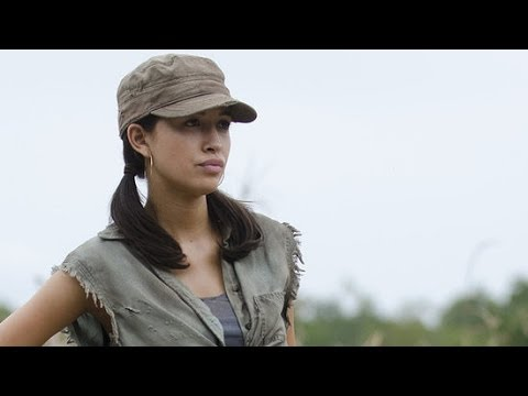 The Walking Dead † s Christian Serratos on the Twisted Season Finale