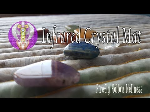 Introducing The Infrared Crystal Chakra Mat