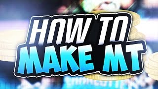 BEST WAYS TO MAKE MT IN NBA 2K17 MyTEAM! HOW TO MAKE MT! NBA2K17!