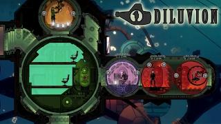 Diluvion! Submarine Survival ADVENTURE - Diluvion Gameplay - Submarine Combat Exploration