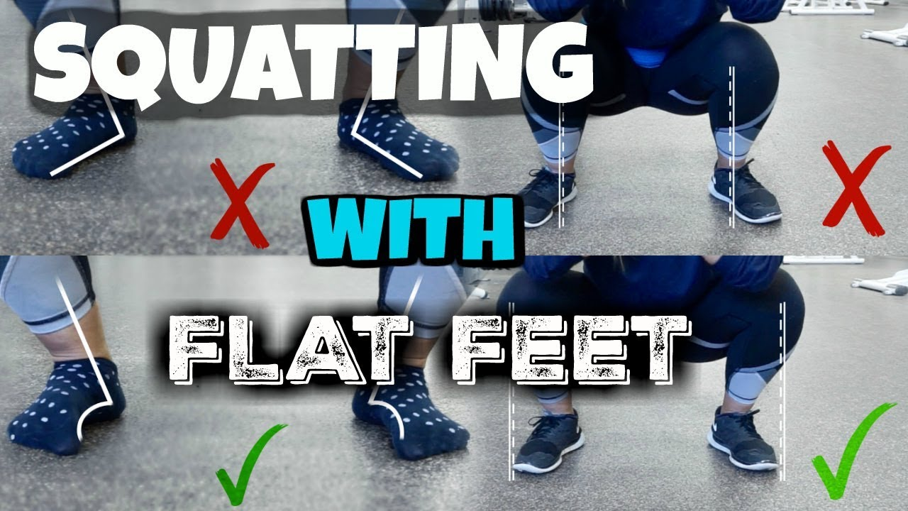 Squatting with Flat Feet | Vlogmas Day