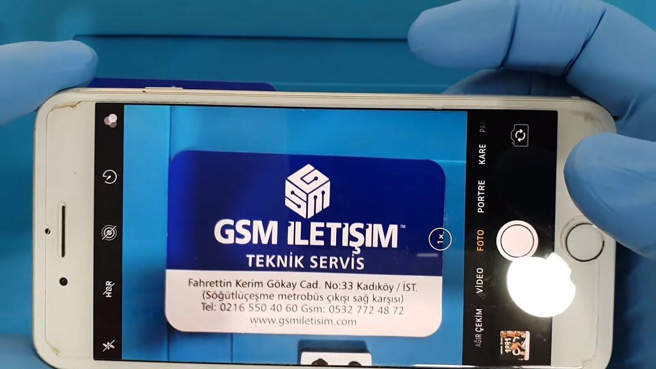 ASMR #2 iPhone 7 Plus Arka Kamera Değişimi 🇹🇷 - YouTube