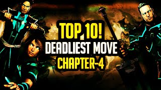 Shadow Fight 3 Top 10 Deadliest Moves |Chapter 4|