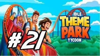 "Idle Theme Park Tycoon - 21 - ""Vulkano Ride"""