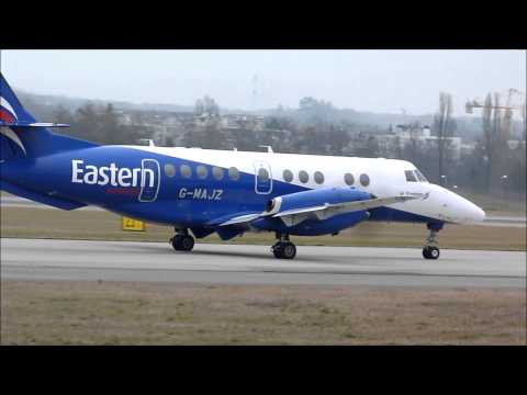 [HD] Eastern Airways Jetstream 41 taxi & take off at Geneva/GVA/LSGG