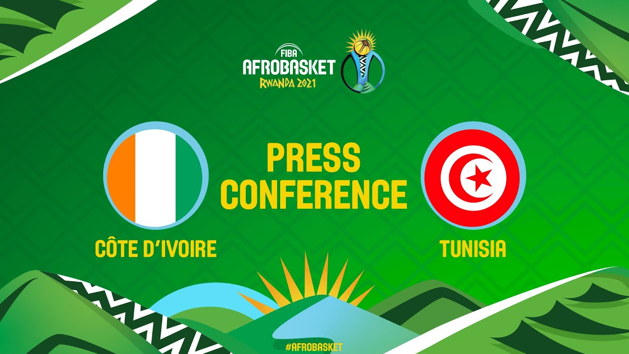 Cote d'Ivoire v Tunisia - Press Conference - FIBA AfroBasket 2021