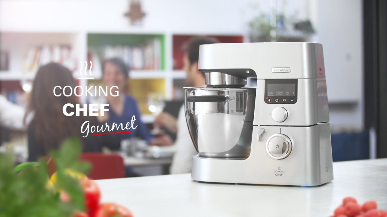 Cooking chef gourmet de kenwood youtube for Cuisson vapeur kenwood cooking chef