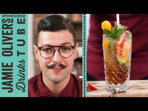 Amour de Bombay - French Summer Cup Cocktail | Mido Yahi | #24HrBarBuild