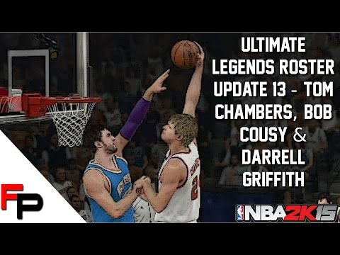 NBA 2K15 - Tom Chambers, Bob Cousy & Darrell Griffith - Ultimate Legends Roster - Update 13