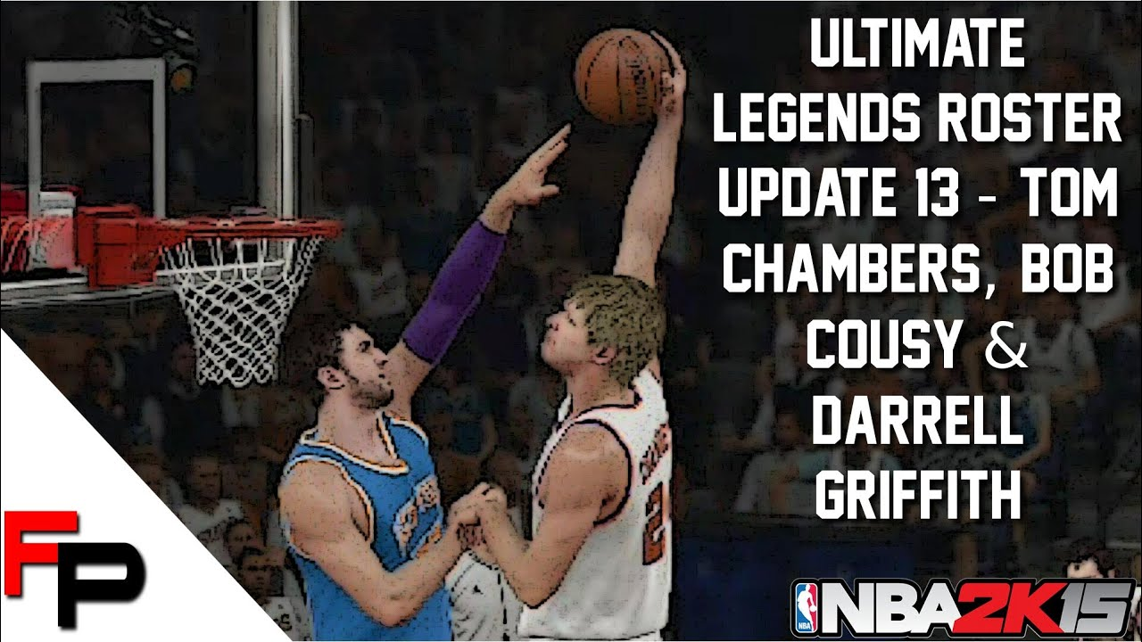 NBA 2K15 Tom Chambers Bob Cousy & Darrell Griffith Ultimate