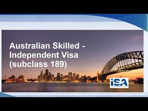 ISA Global Videos | Australia Skilled Independent Visa