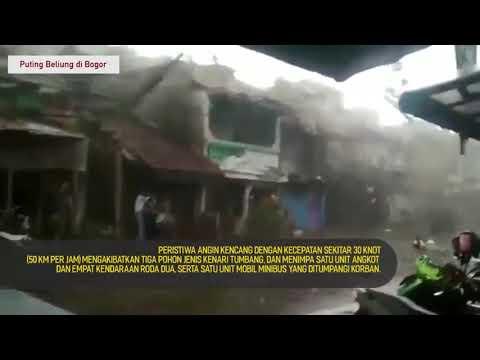 BMKG : Angin Puting Beliung Terjang Kota Bogor - Jawa Barat, Sejumlah Bangunan Rusak Mp3
