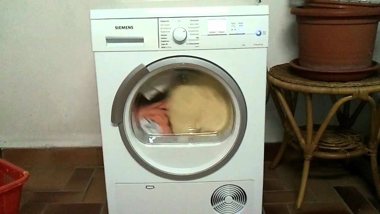 Bosch Siemens Trockner Dryer Youtube