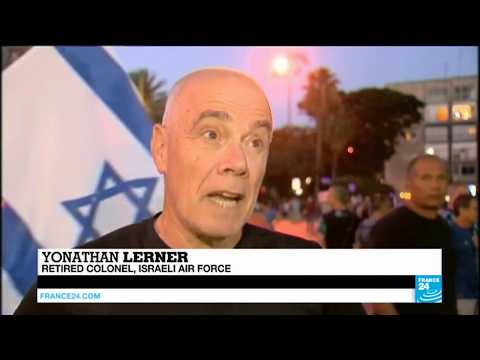 Israelis take to streets to support Palestinian state