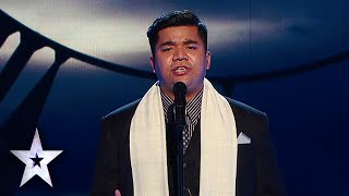 """Toshan Nongbet Sings """"The Lord's Prayer"""" 