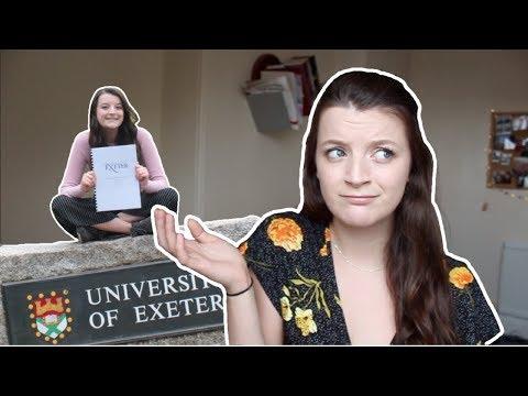 WHY I CHOSE THE UNIVERSITY OF EXETER