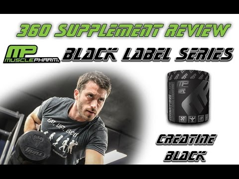 New Musclepharm's Black Label Series Supplement Review Part 2: Creatine Black