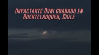 Impactante Ovni grabado en Huentelauquen, Chile 2018