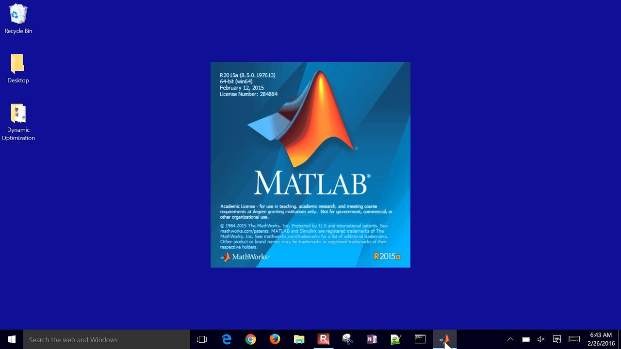 change activation key matlab