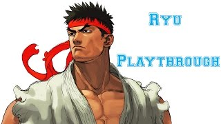 Street Fighter III: 3rd Strike - Ryu Playthrough