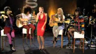 Beyonce AOL Sessions 2008
