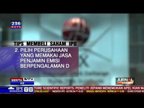 Tips Membeli Saham IPO